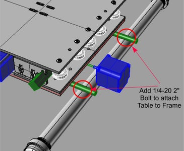 2BEIGH3 Precision CNC Table BOM and Assembly