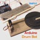 Simple Arduino Drum Robot