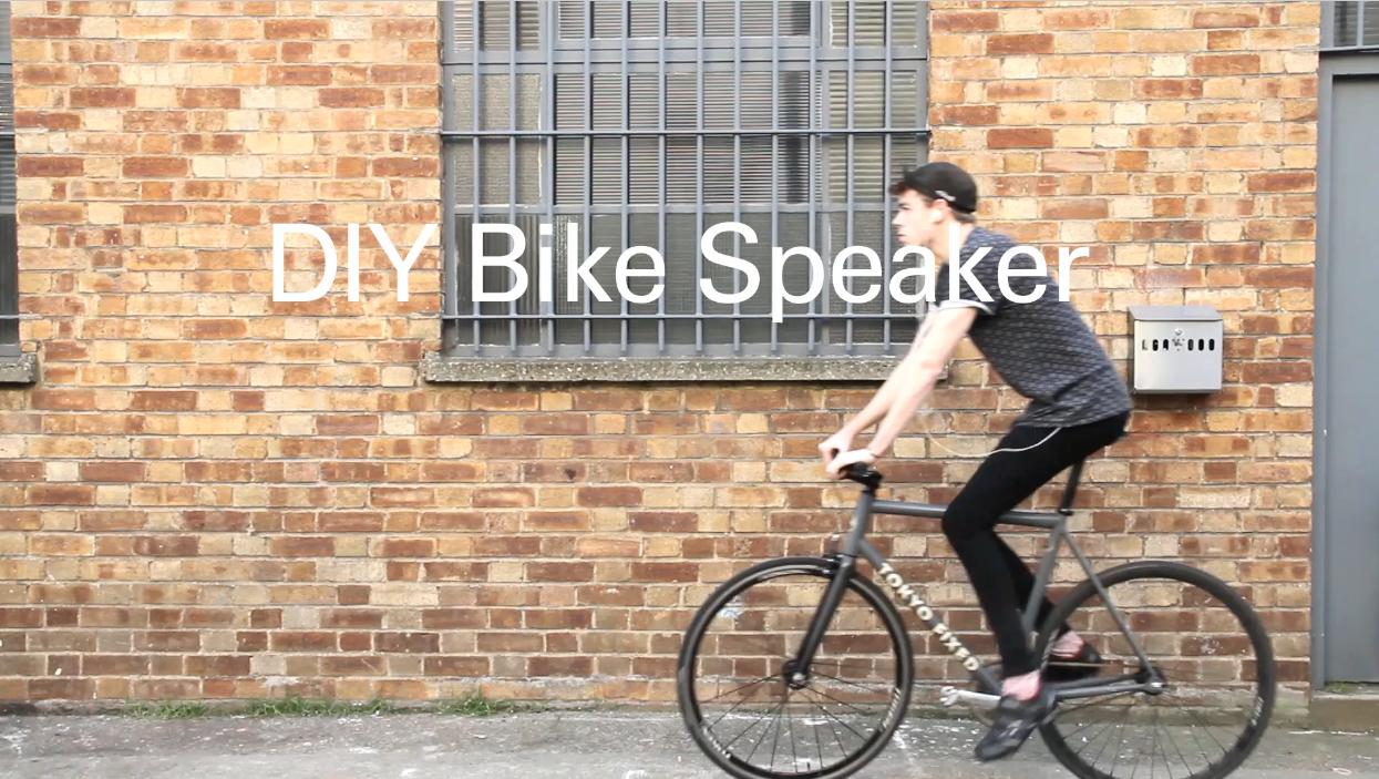 DIY BIKE SPEAKER