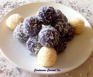 Cardamom Coconut Ice