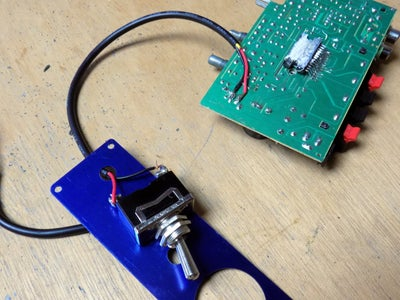 Attaching a Toggle Switch