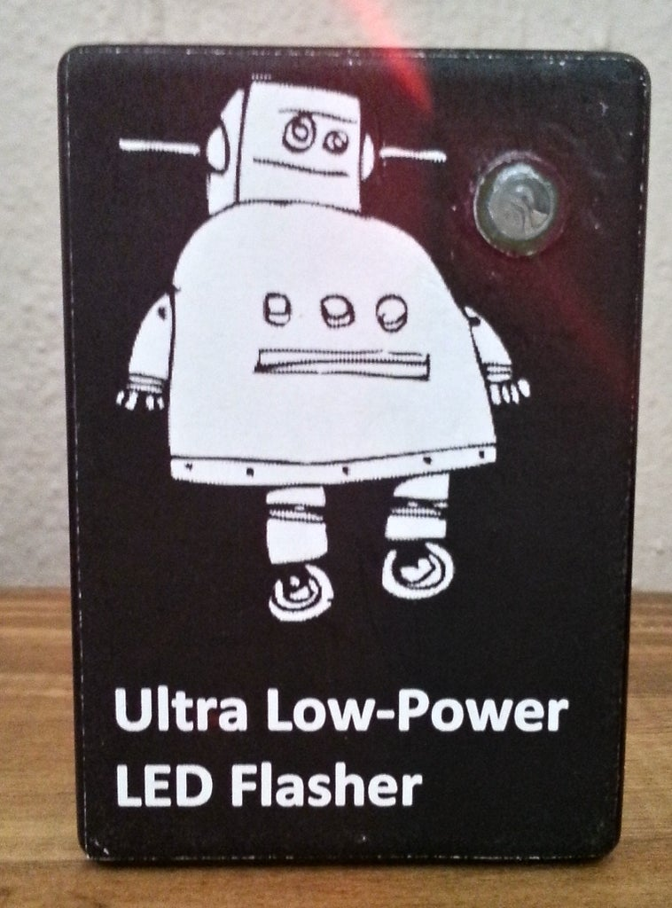 2-Year Ultra Low-Power LED Flasher