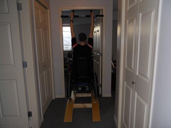 Exercise Wheelchair Boost Ramp