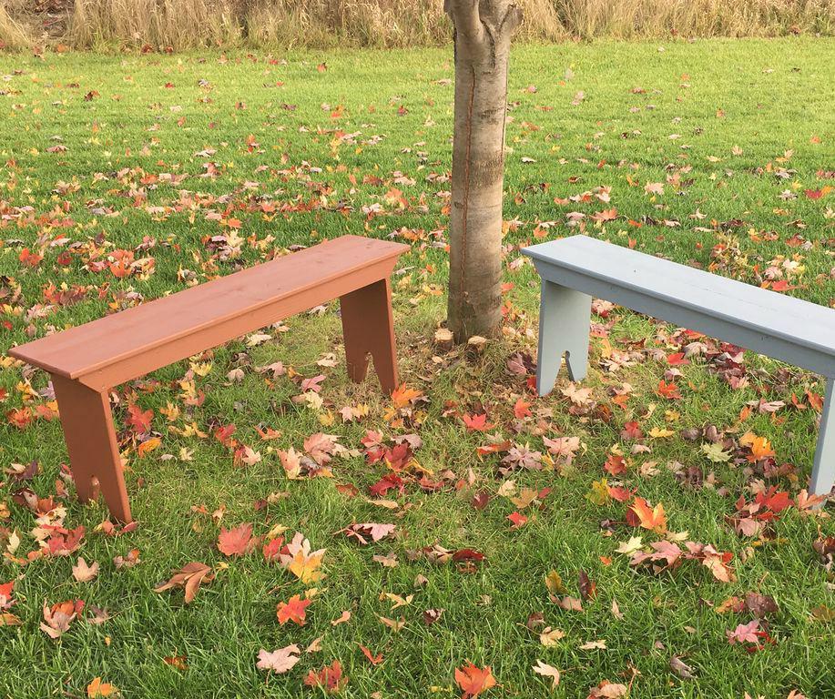 Shaker 5 board bench