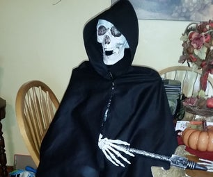 Animated Grim Reaper