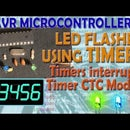 AVR Microcontroller. LEDs Flasher Using Timer. Timers Interrupts. Timer CTC Mode