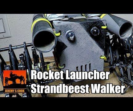 Strandbeest Rocket Launcher [Fireworks]