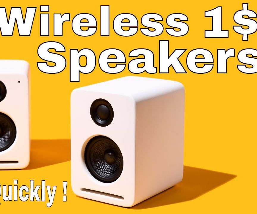 1$ Wireless Speaker That Connect's in 0.0000000001 Seconds !