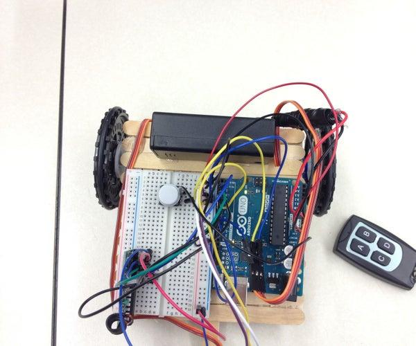 Super Simple Arduino Rover