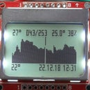 Arduino Datalogger With RTC, Nokia LCD and Encoder