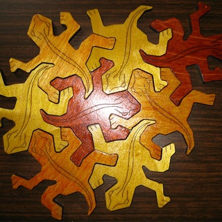 Make an M.C. Escher Reptile Puzzle on Your CNC Router/mill