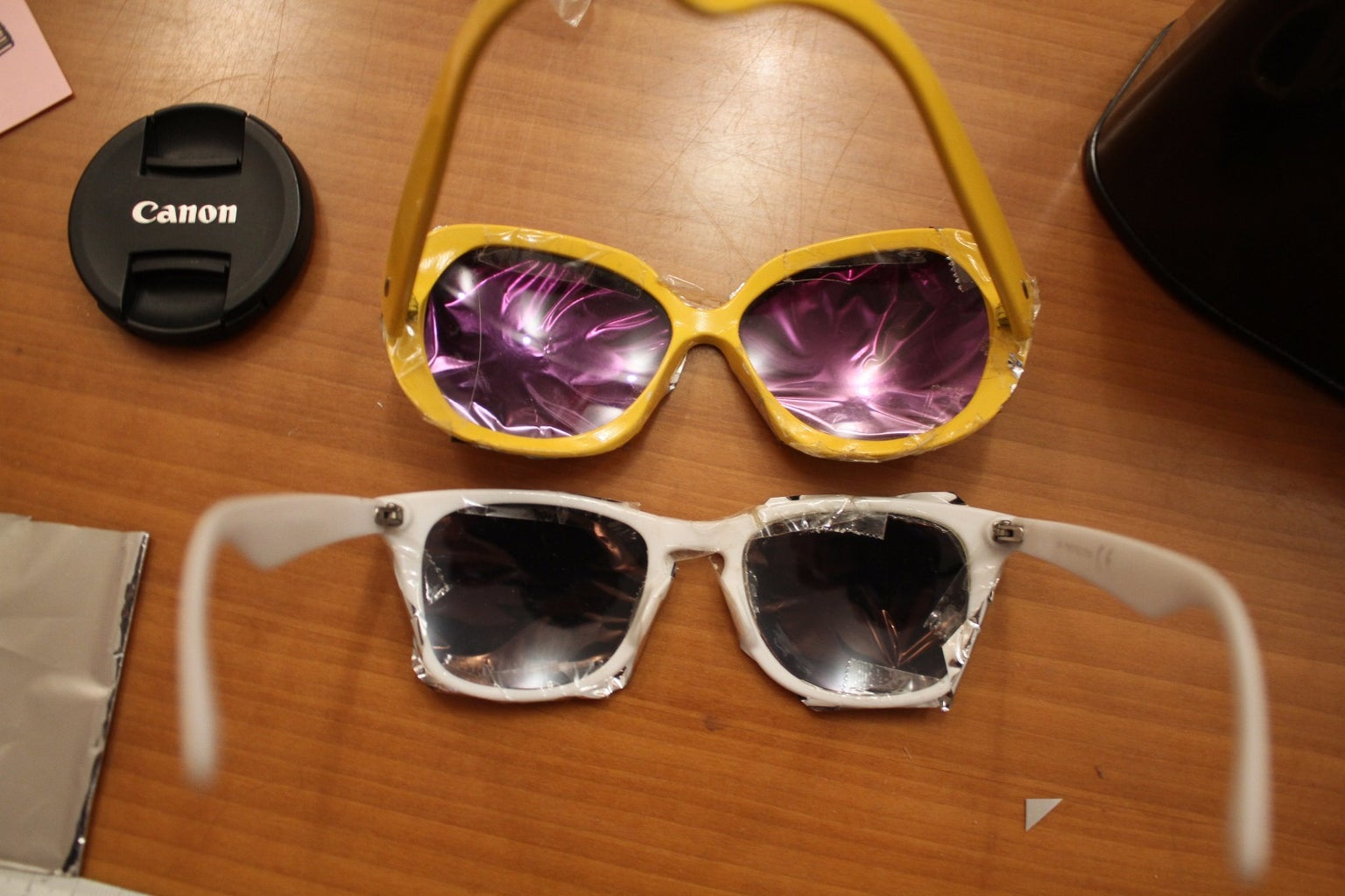 Filter to Observe: Mod Your Sun Glasses!