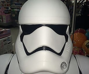 First Order Stormtrooper Thermoformed Mask