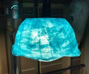 Paper Mache Lamp Shade