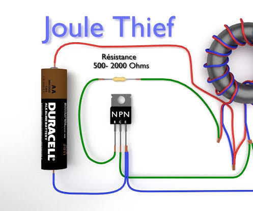 How to Make a Joule Thief Circuit