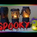 DIY Haunted Halloween Lantern