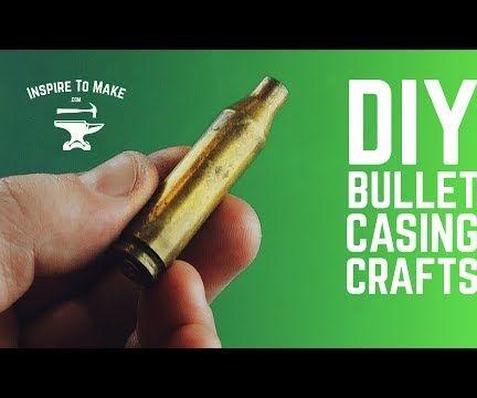 7 DIY Bullet Casing Craft Ideas
