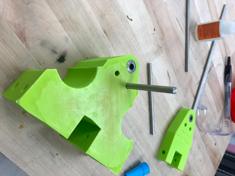 Head Stock + Gear Box