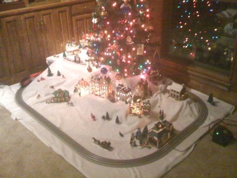 Christmas Village 9 Steps Instructables