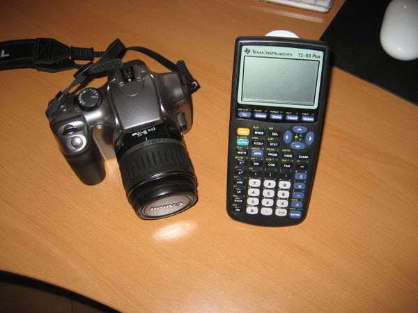 Turn a TI Graphing Calculator Into an Intervalometer and Create Time Lapse Videos