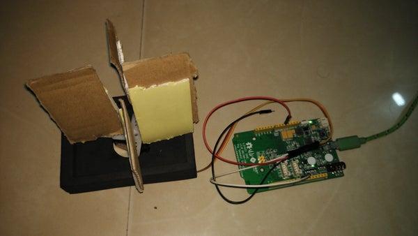 Automated Revolving Door With Mediatek Linkit One