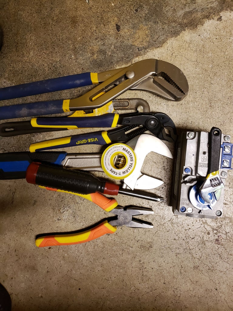 Tools and Parts Needed