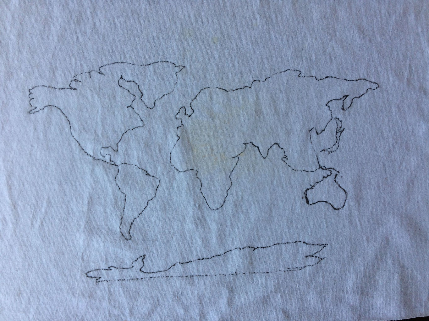 Trace Over the Map