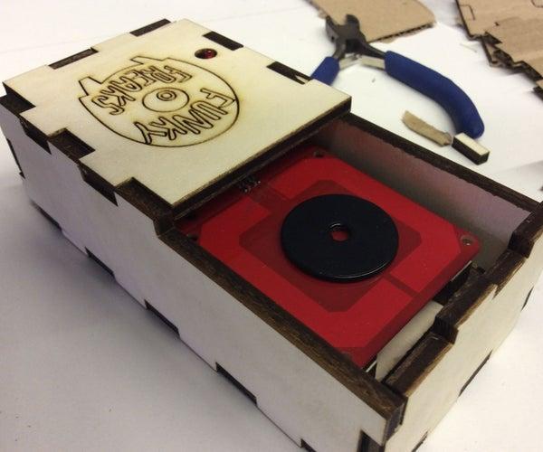 RFID Reader + Tags Programmed to Play Videos