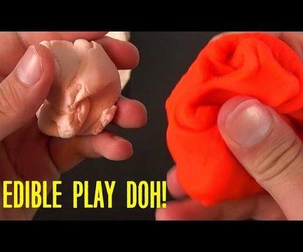 Marshmallow Play Doh - DIY Edible Playdough!