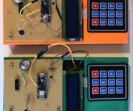 Sensormodule Mit Datenübertragung Über WiFi