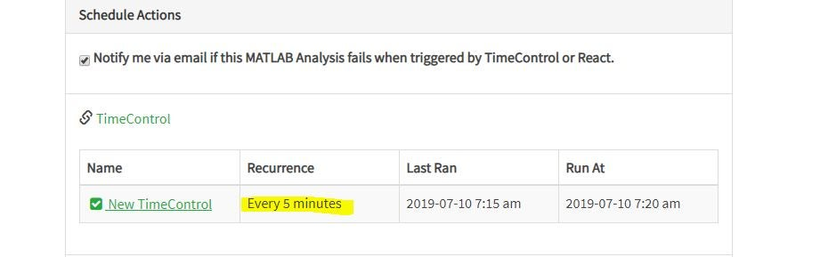 Create a Time Control to Run Your Analysis