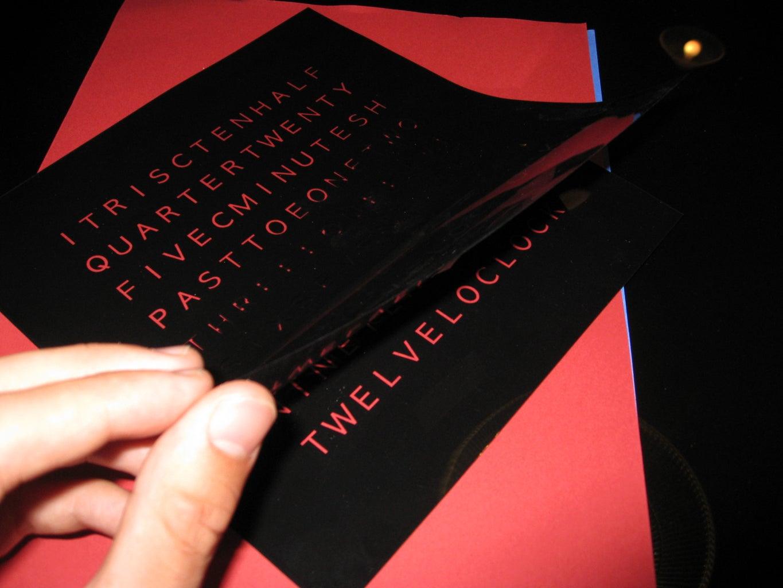 The Black Letter Mask