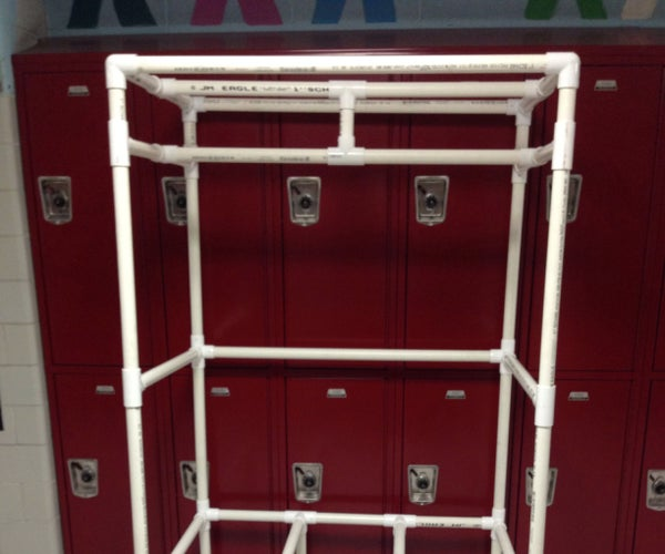 How to Make a Closet Organizer Out of PVC