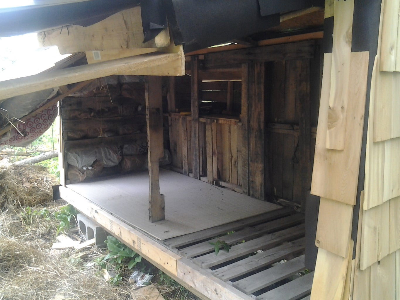Building the Floor and Walls