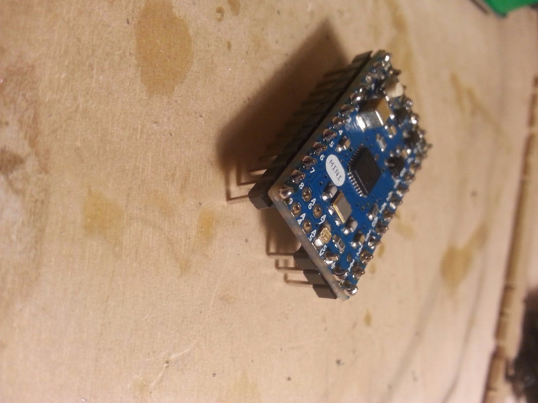 Add Headers to Arduino Mini