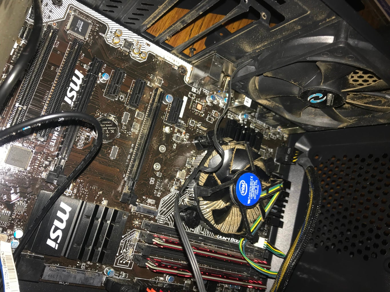 Removing Old Graphics Card