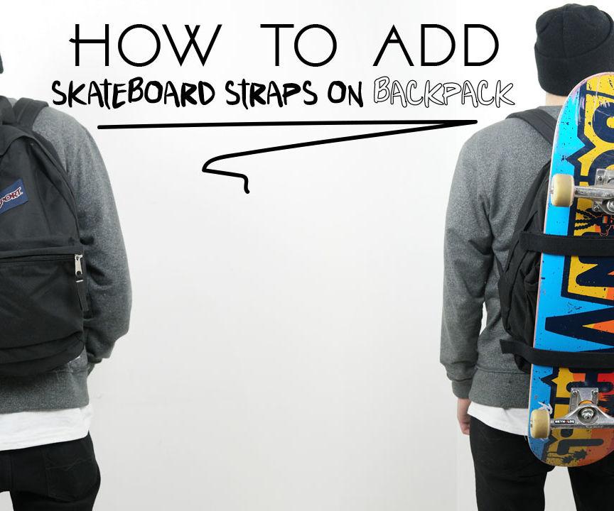 How to Make Skateboard Backpack
