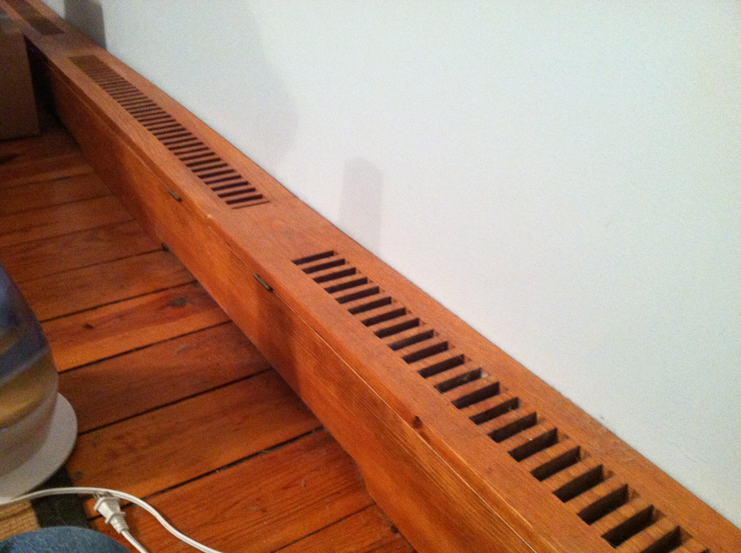 How To Make Wooden Baseboard Heater Covers 4 Steps Instructables