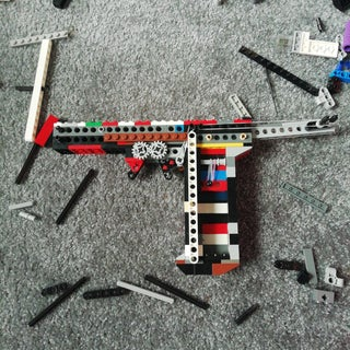 Functional LEGO Pistol (with GIF)
