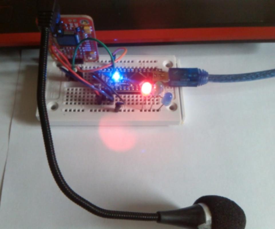 Arduino voice control