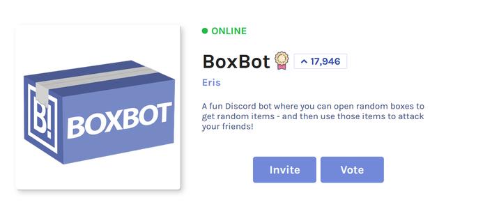 Invite Your Bot!