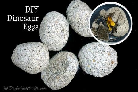 DIY Dinosaur Eggs