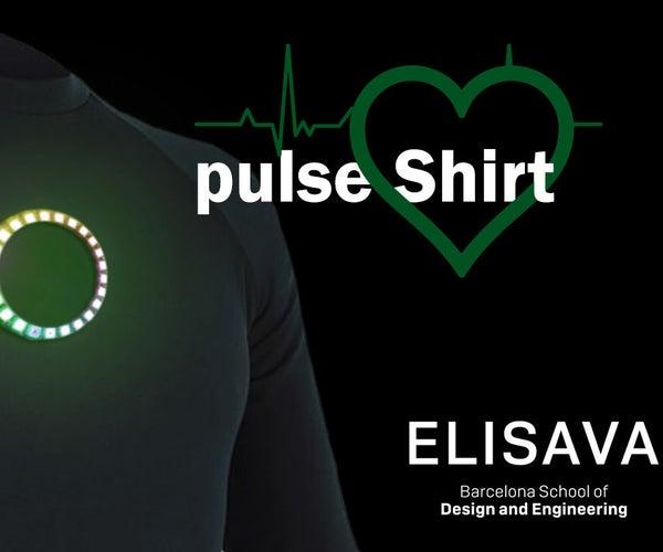 Pulse Shirt - LED - Arduino NANO