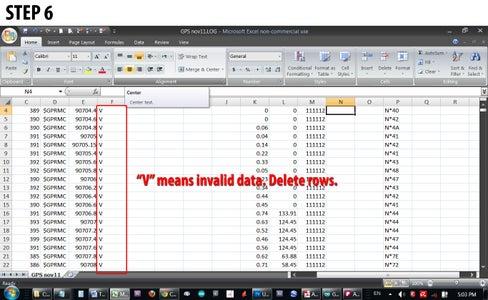 SCRUBBING & FORMATTING DATA WITH a SPREADSHEET