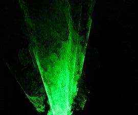 Laser Marbling in Smoke