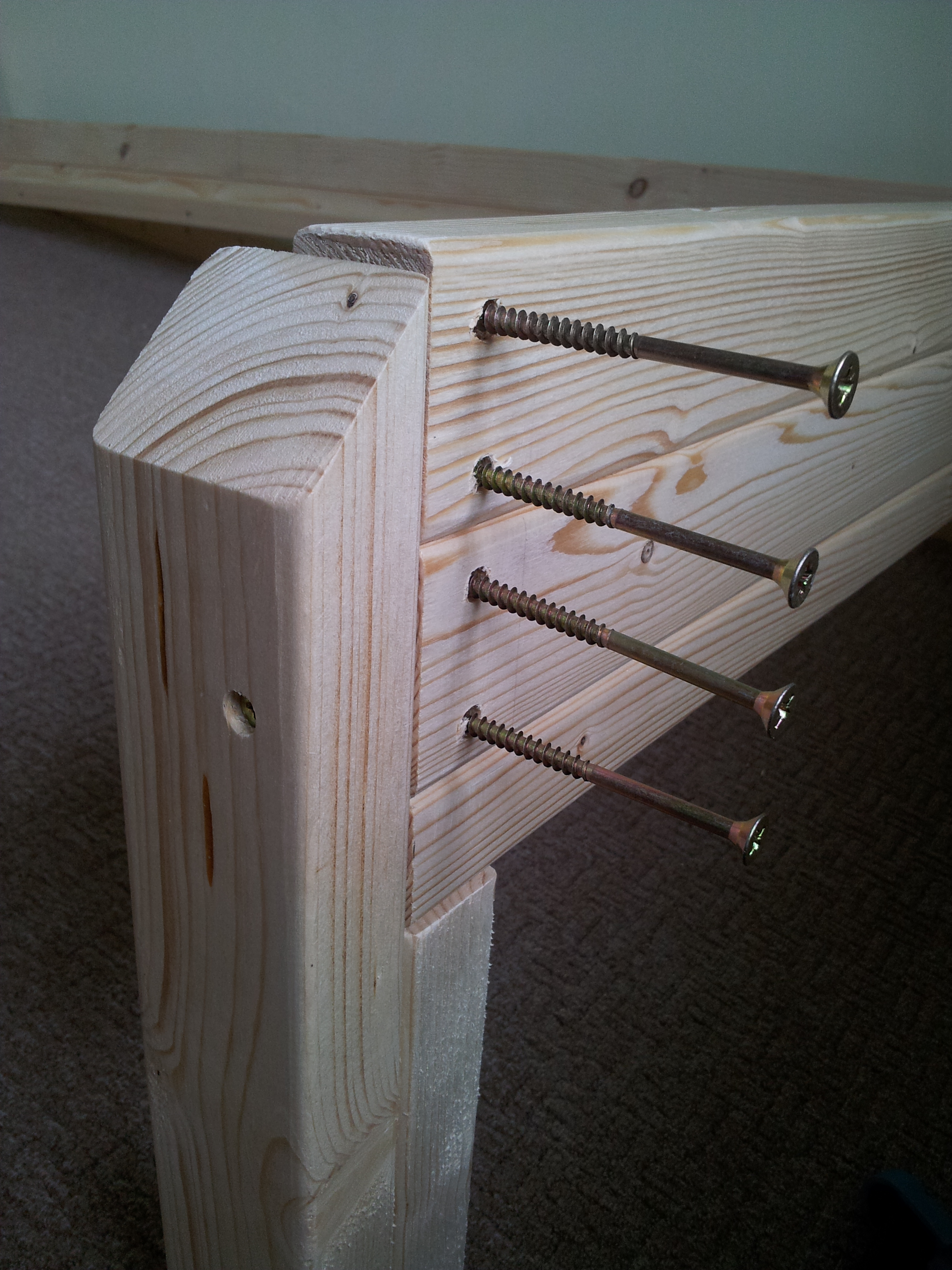 Single Bed 4 Steps Instructables