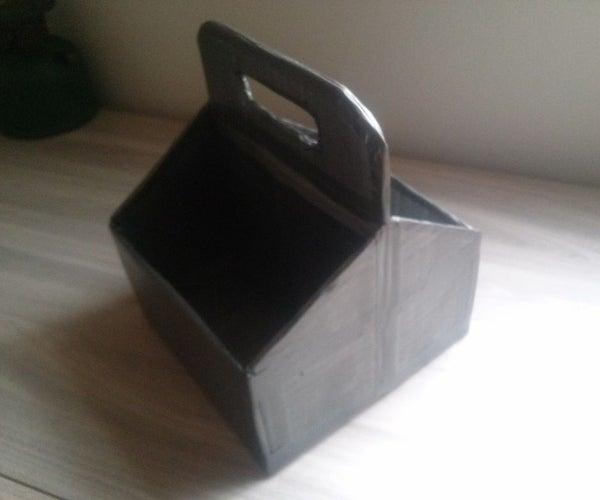 DIY Multipurpose Storage Box (reuse Cardboard Box)