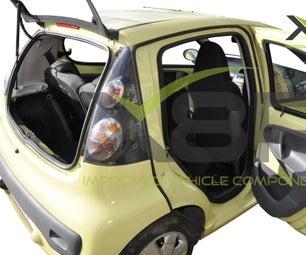 Toyota AYGO, Peugeot 107 & Citroen C1 Rear Door Sealing Guide