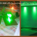 Make Your Own RGB Led Decoration Light-DIY