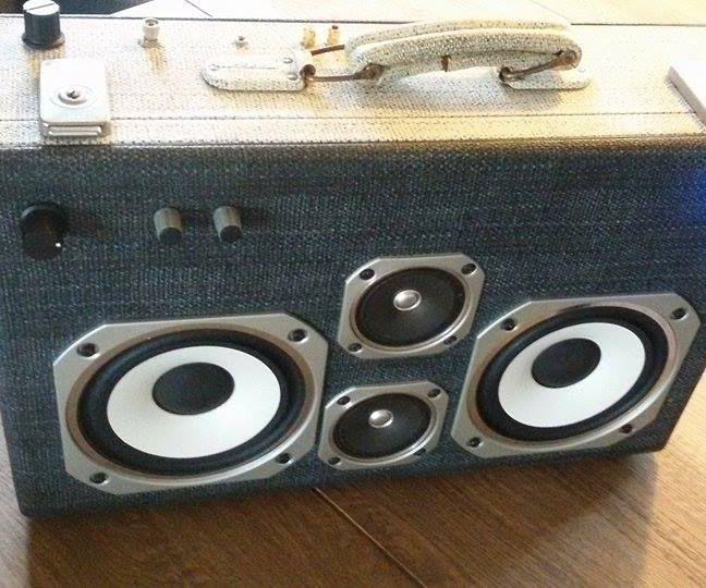 Portable Bluetooth Boomcase